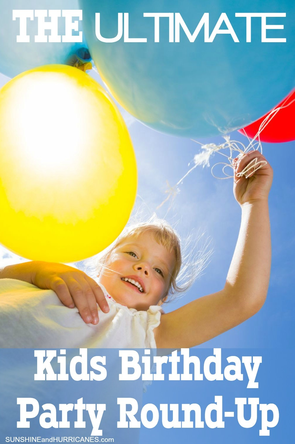 Looking for a one stop solution to ALL your Birthday party planning? We've got everything you could need and more, from party hacks and goody bag alternatives, to birthday printables, games and even thank you notes for afterward. This will be the easiest Birthday party you ever pulled together. The Ultimate Kids Birthday Party Round-Up. SunshineandHurricanes.com