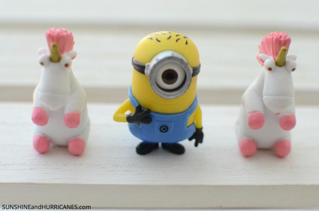 Despicable Me Unicorn Cookies. SunshineandHurricanes.com