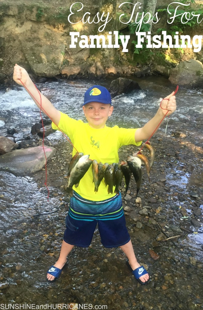 Easy Tips For Family Fishing Fun, get everyone outside and active while seeing the world. Simple ideas to help families make the most of fishing.