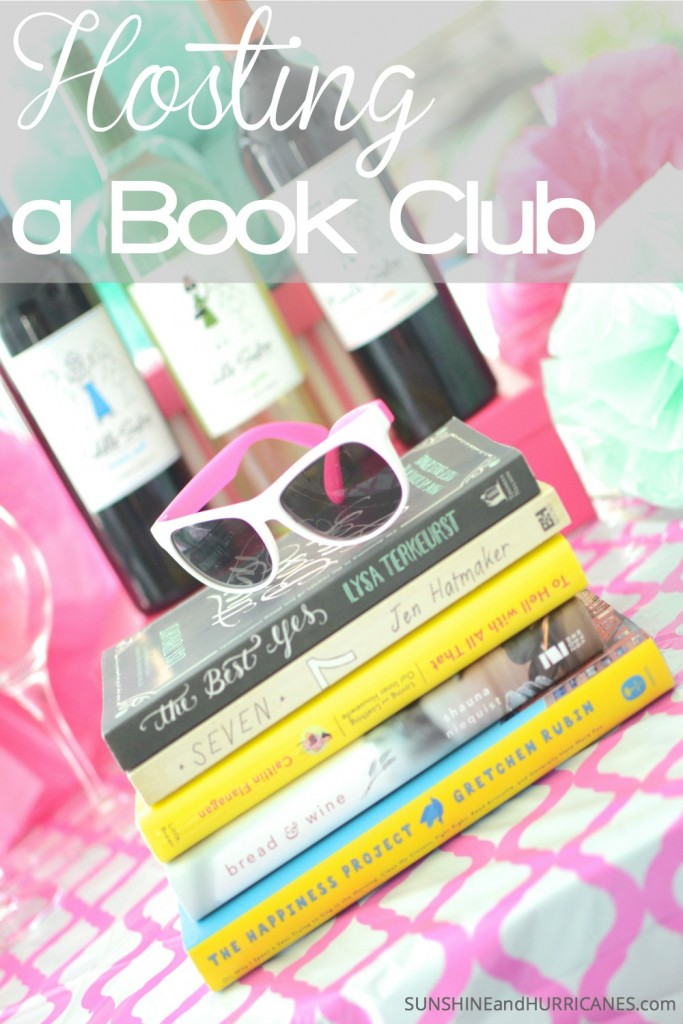Have you been wanting to start  a book club? Wondering what to read and how to host one? We've got great book club suggestions as well as an easy way to pull together a fun party for all your book club friends. SunshineandHurricanes.com
