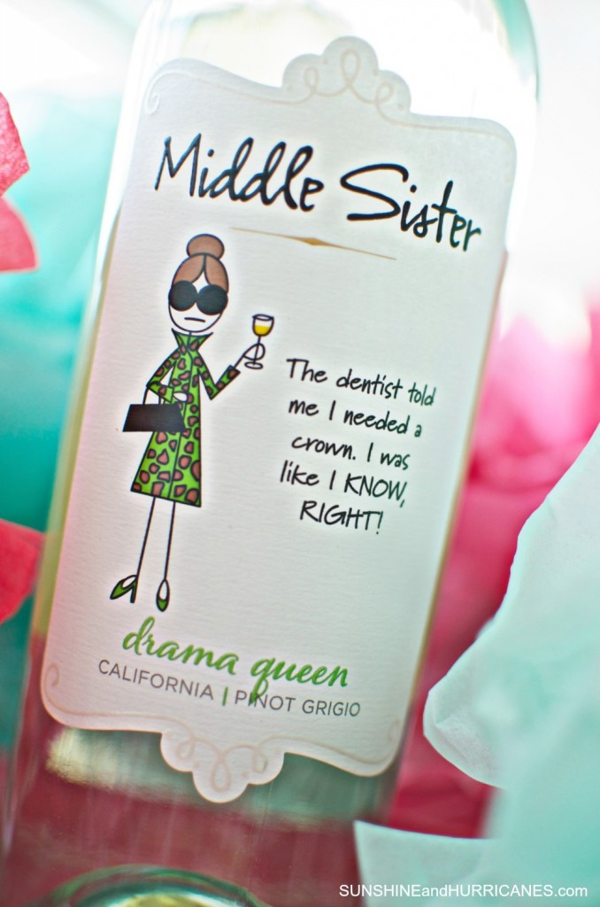 Hosting a Book Club. Middle Sister Wine. SunshineandHurricanes.com
