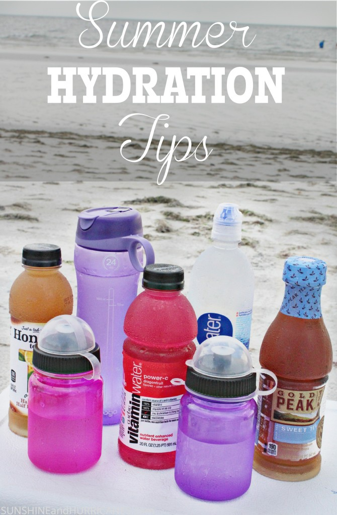 Summer Hydration Tips for staying healthy and energized amidst the heat and humidity of high temperatures.