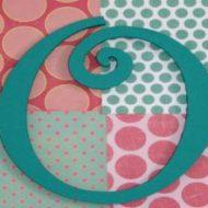 Teen Craft: Monogram Wall Art