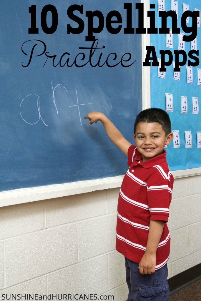 These 10 Best Spelling Apps are a great way to help kids and adults master spelling skills and practice for tests, develop writing structure and more.