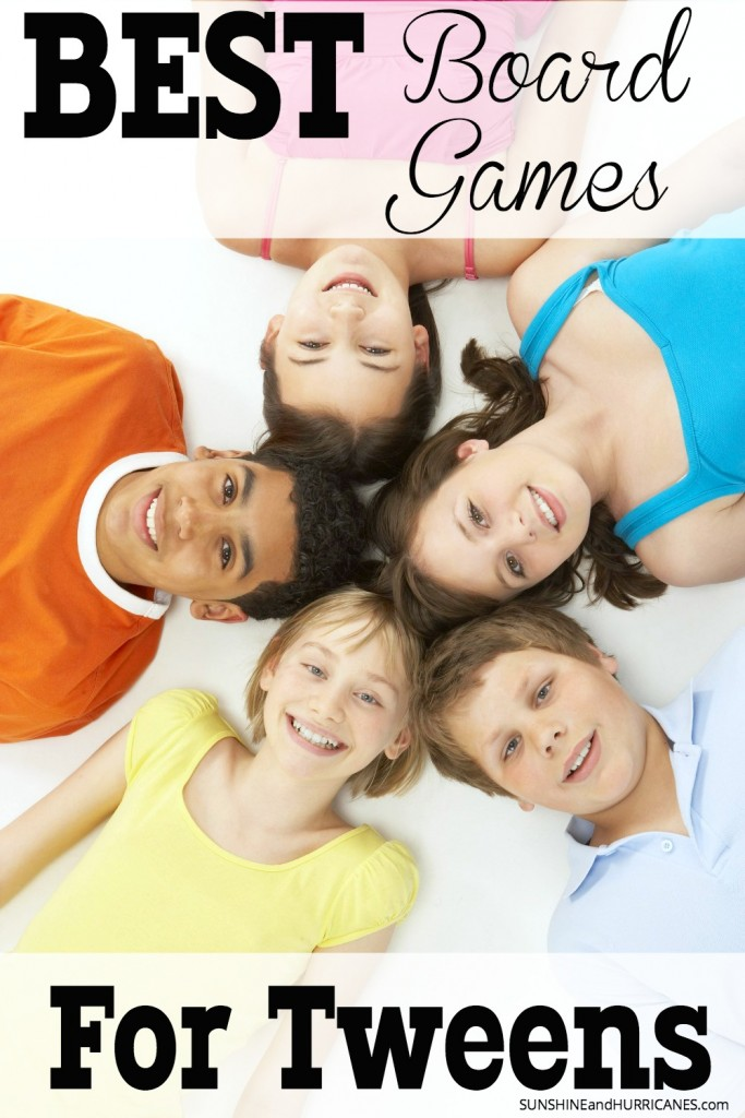 Looking for a way to connect with your tween during this difficult phase in life? Family game nights can be a perfect low pressure way to have fun and engage your tween. Yes, there are actually some board games they will like and enjoy and we've got them all right here. Best Board Games for Tweens. SunshineandHurricanes.com