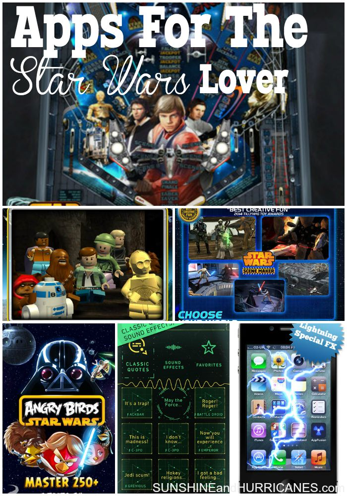 These Apps For The Star Wars lover have everything from games to trivia, custom emojis and wallpapers, and creative activities. Great for kids, teens, adult