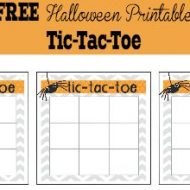 Halloween Activities for Kids – Tic Tac Toe