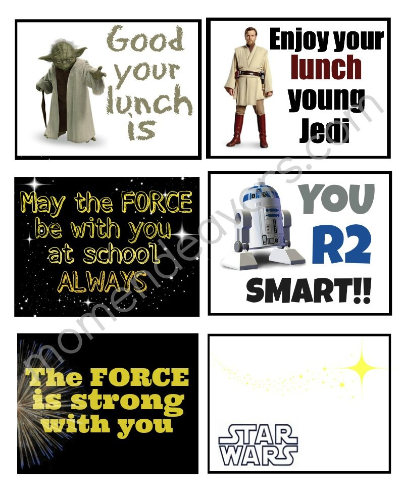 May The Fourth Be With You Party Ideas: Star Wars Printables An Out Of This World Round-Up