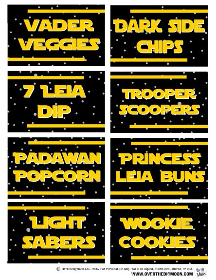 Star Wars Printables An Out of This World Round-Up