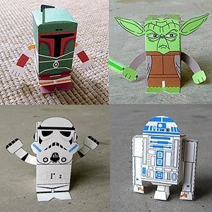 Star Wars Printables Paper Crafts part of the Star Wars Printables Ultimate RoundUp. SunshineandHurricanes.com