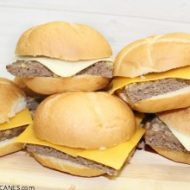 Burger Sliders For Game Day