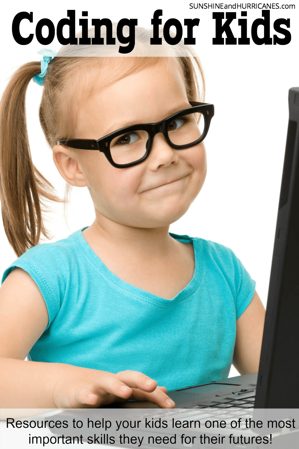Did you know that a large percentage of jobs of the future will require some form of coding knowledge? It's a great skill for children to learn early and there are so many fun ways to encourage them to give coding a try! We've got all the resources you need to help your child learn this important skill. Coding for Kids. SunshineandHurricanes.com