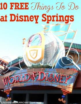 10 Free Things To Do At Disney Springs