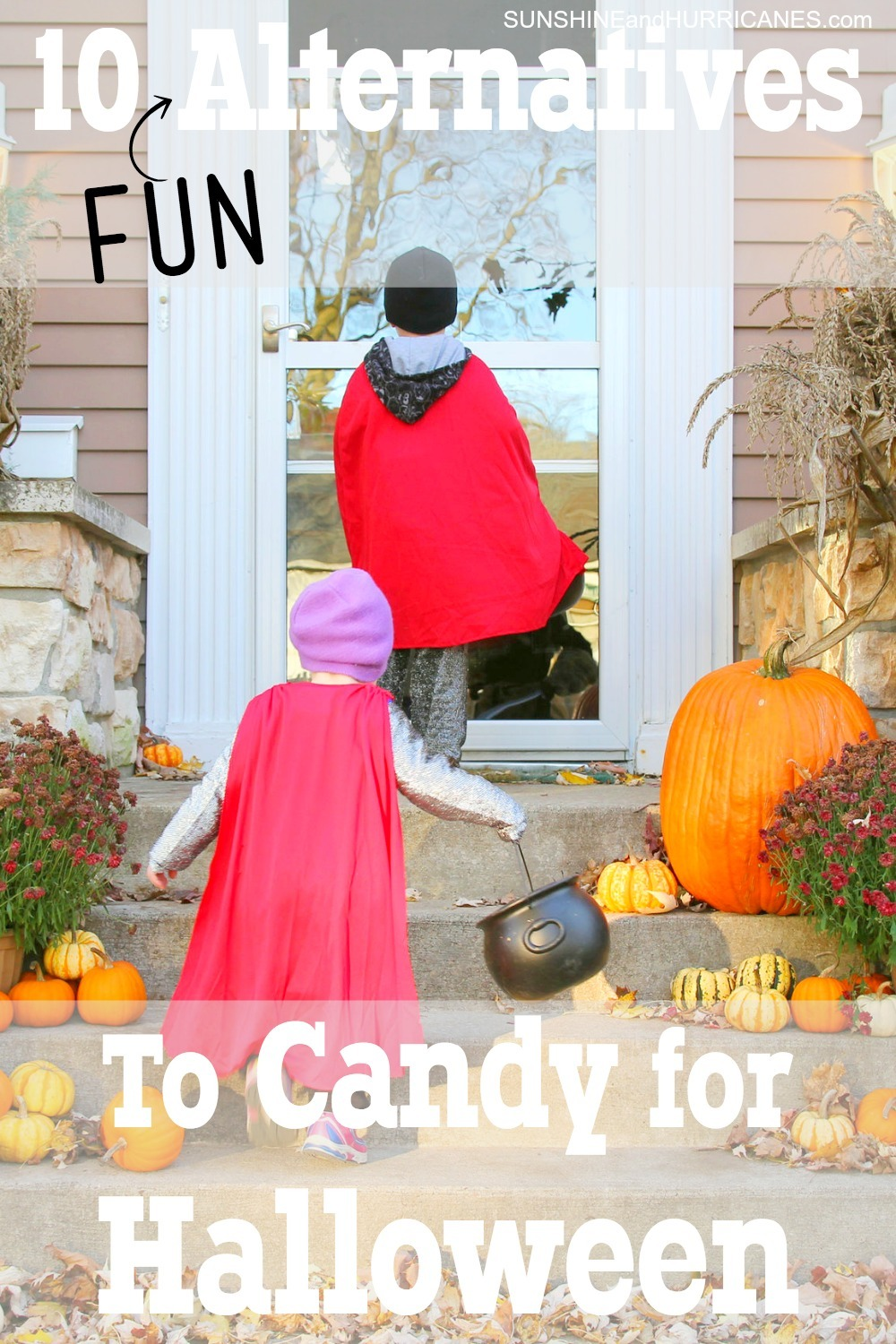 Looking for a treat for Halloween that is healthy, but won't make kids feel like they got tricked? Here are 10 alternatives to candy for Halloween that are guaranteed to be as big a hit as candy and still affordable too!