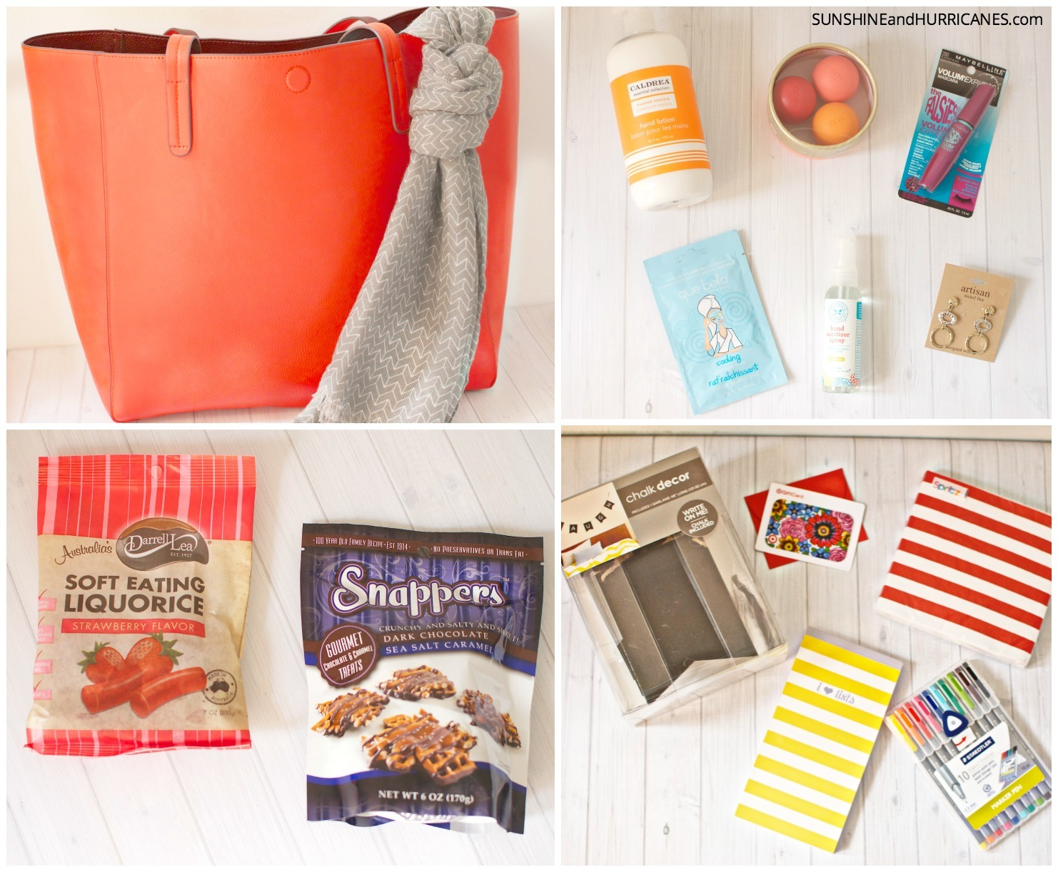 The holidays are coming up, wouldn't it be great to win all these fun Target themed items as a little gift for you or to give to others? Enter our favorite things giveaway to win! sunshineandhurricanes.com