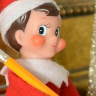 An Elf on the Shelf Break-Up Letter
