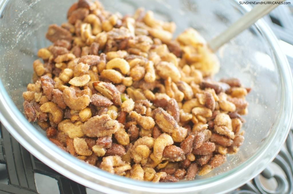 Sugared Mix Nuts Recipe