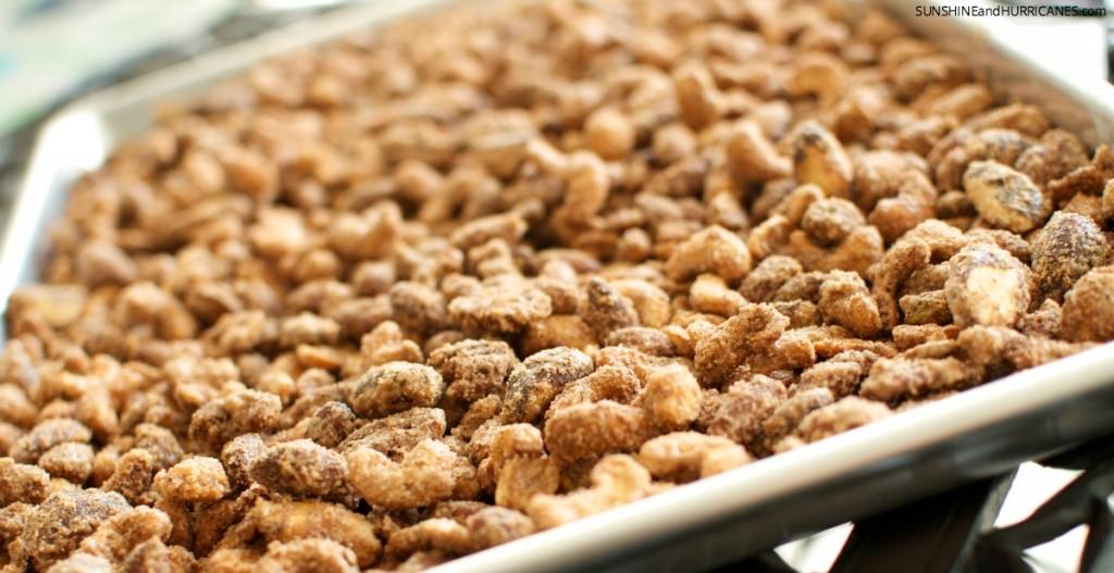 Sugared Mixed Nuts Recipe