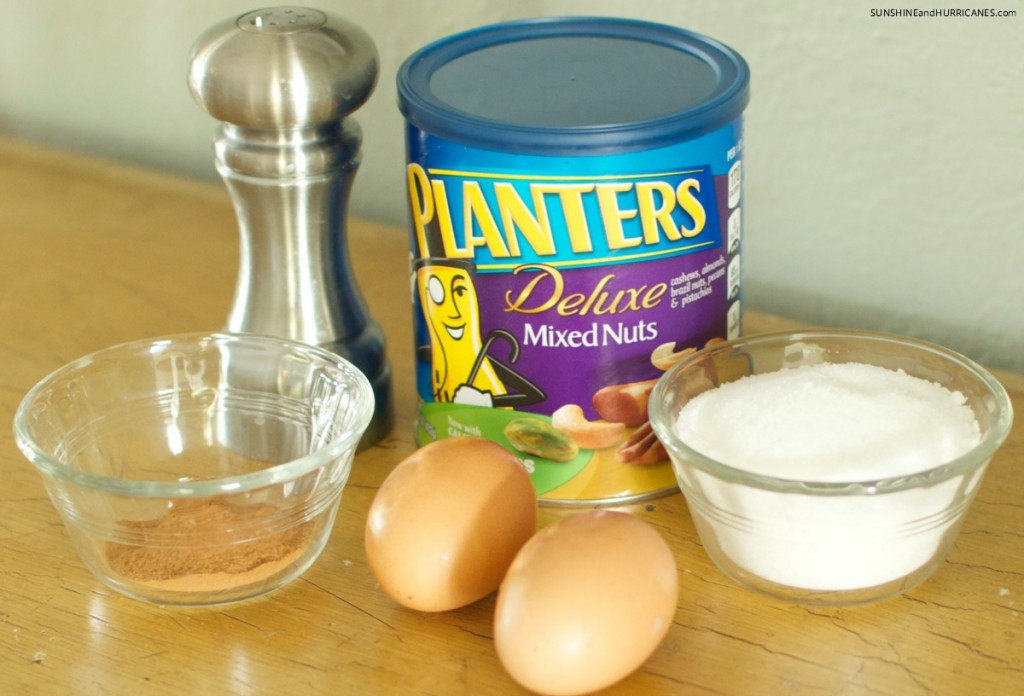 The most requested gift every year!! This recipe for sugared mixed nuts is always a favorite and is an affordable idea for holiday gifts for friends, neighbors, teachers. Sugared Mixed Nuts Recipe. SunshineandHurricanes.com