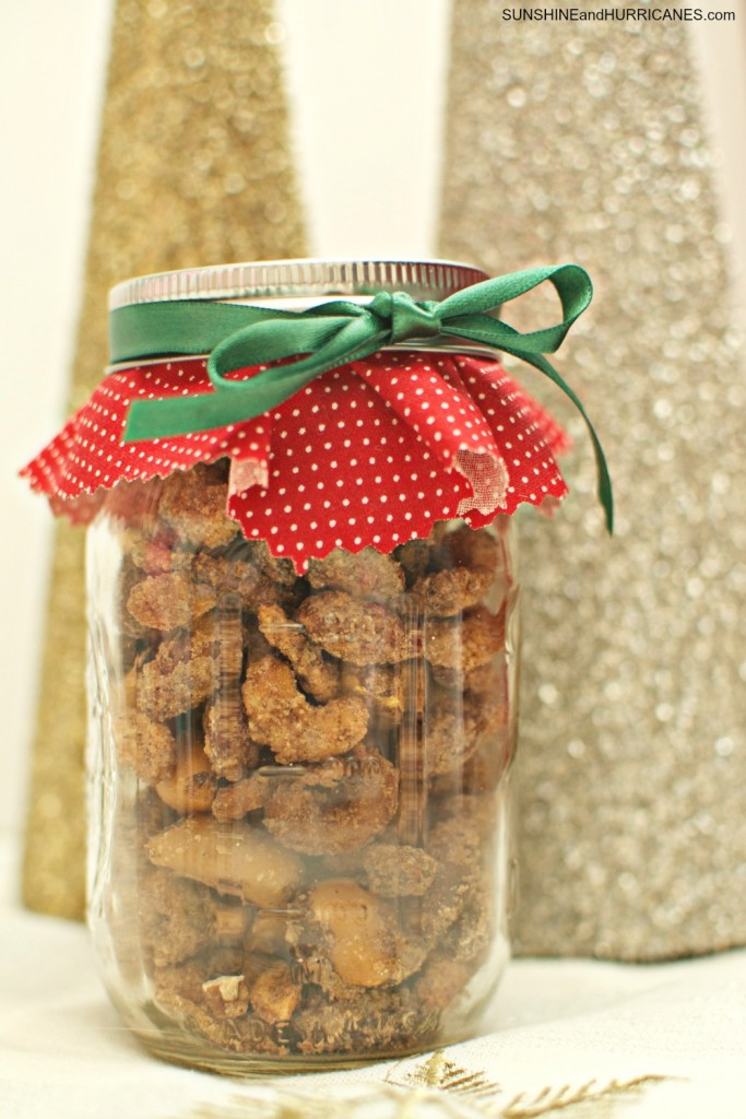 Sugared Mixed Nuts Recipe an easy, affordable and totally addictive gift idea for neighbors, teachers and friends.