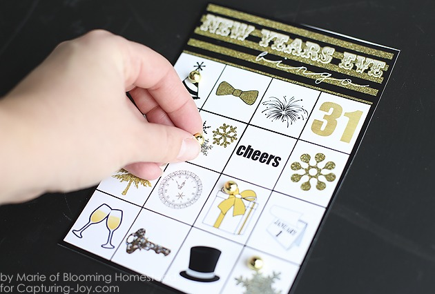 New Years Eve Printables Bingo