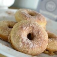 Cinnamon Sugar Baked Donut Recipe