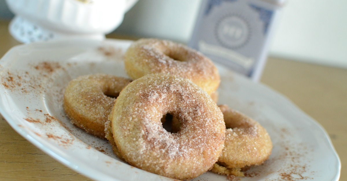 Cinnamon Sugar Baked Donut Recipe