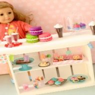 DIY American Girl Doll Bakery