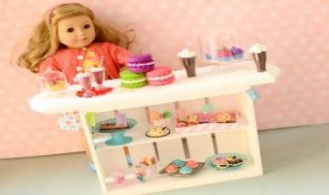 DIY American Girl Doll Bakery