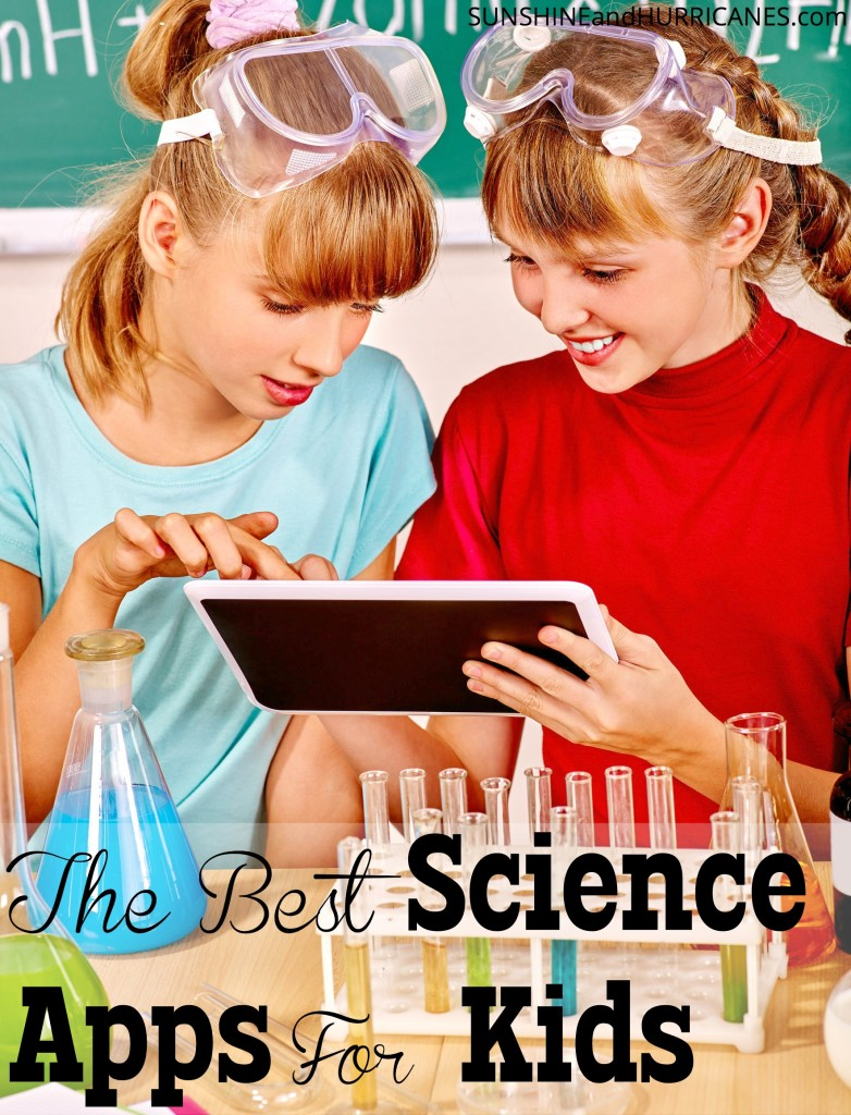 Need some fun and educational apps to keep your budding scientists busy? From weather to <a rel=