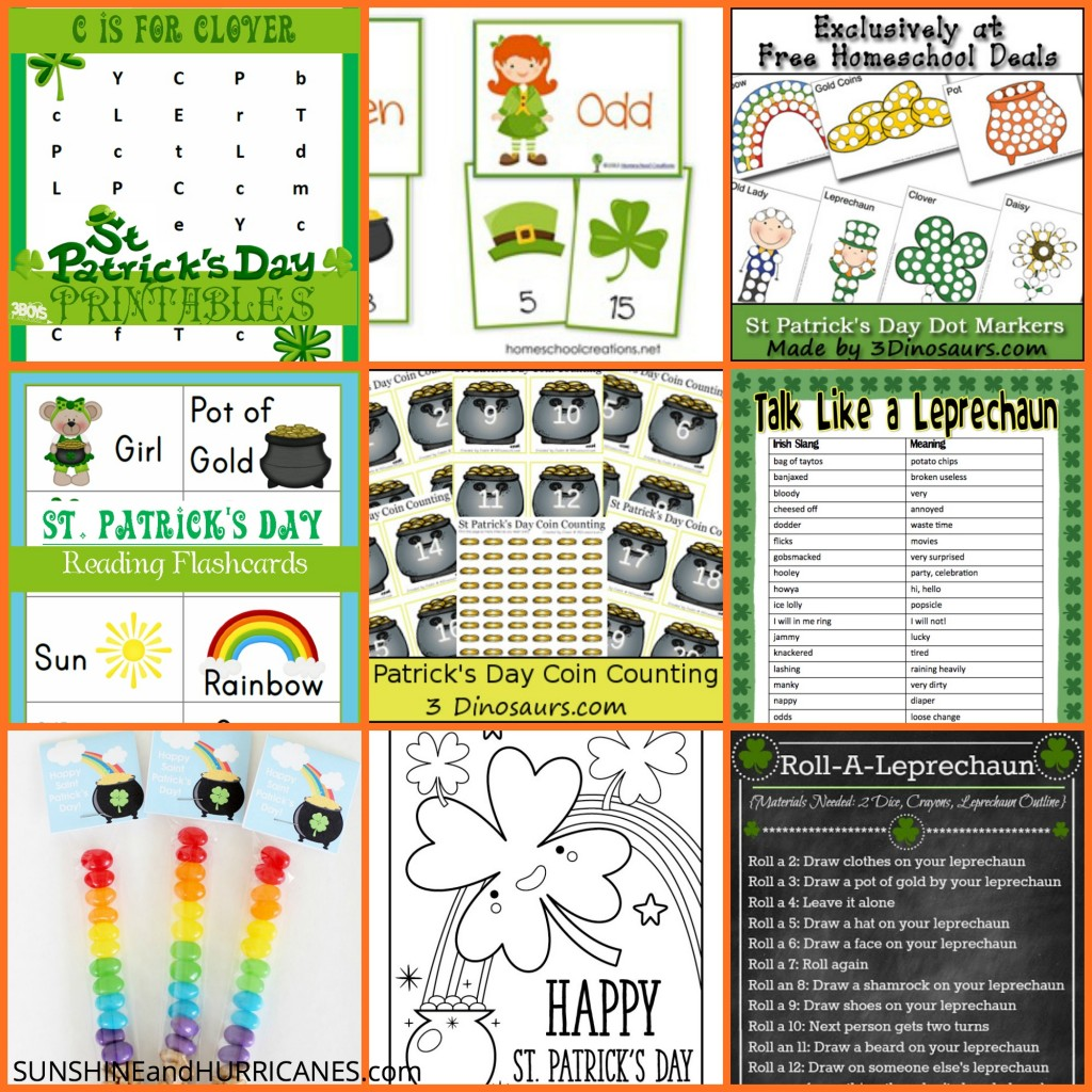 image relating to St Patrick's Day Crossword Puzzle Printable called St. Patricks Working day Printables