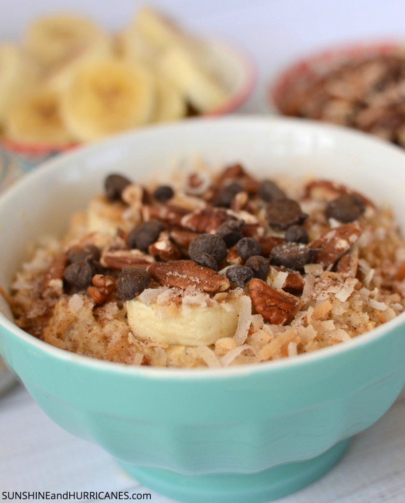 Tropical Breakfast Oatmeal