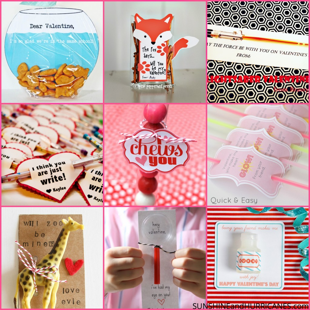 Valentine's Day Printable Round Up