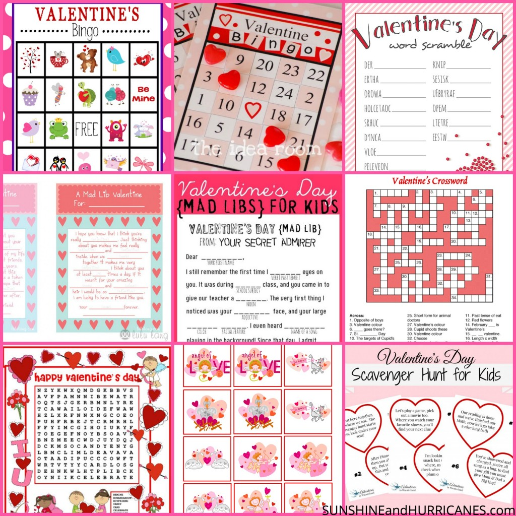 Valentine\'s Day Printable Round Up - Cute and Clever Ideas from the ...