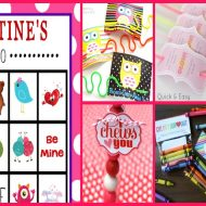 Valentine's Day Printable Round Up – Cute and Clever Ideas from the Heart