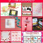 Valentine cards, games, and fun activities for kids of all ages! Cards for friends to exchange, scavenger hunts, classroom games, and activities for home are al included in this fabulous round up. You'll have the coolest Valentines in the class, boys and girls alike will love them all!