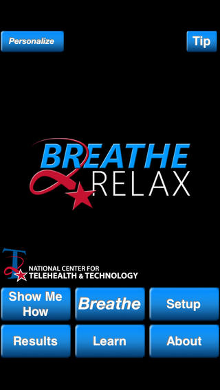 Breathe2Relax app for childhood anxiety