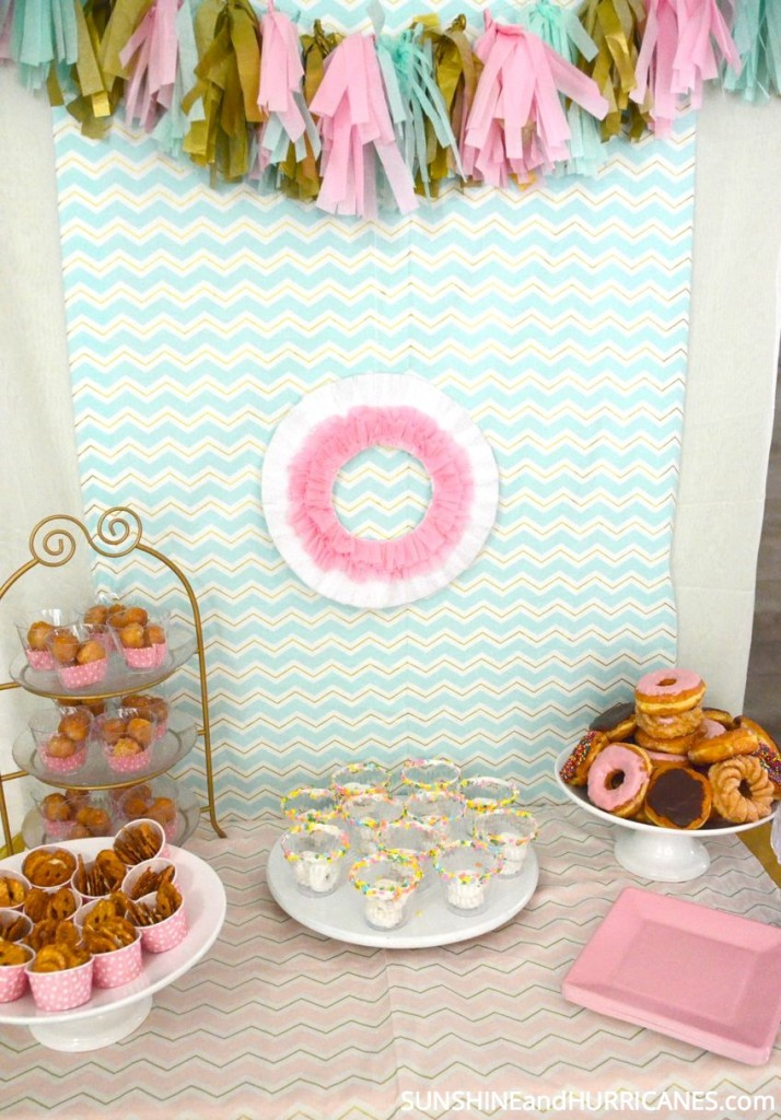 Donut Birthday Party
