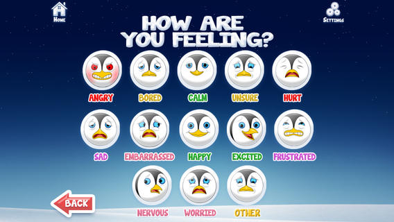 positive penguins app for childhood anxiety