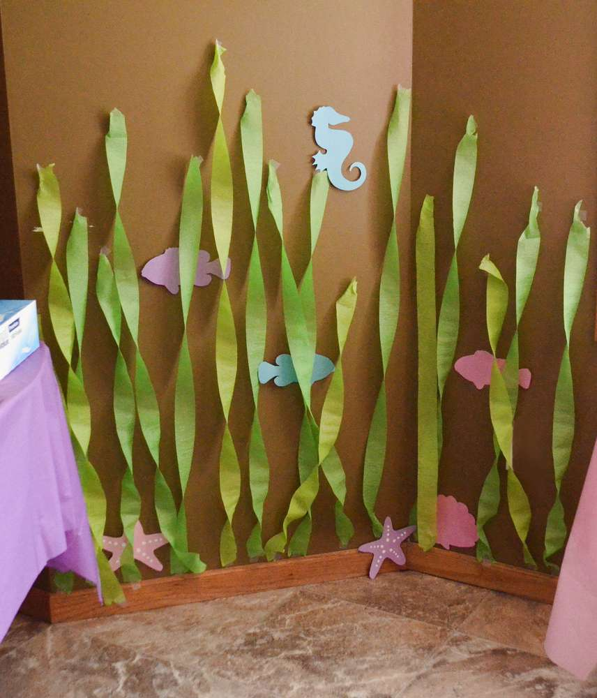 Finding dory party ideas for Fish decoration ideas