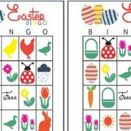 Easter Bingo – Printable Easter Games