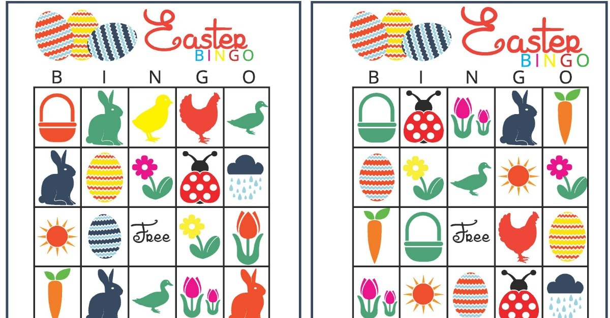photograph regarding Free Printable Easter Bingo Cards called Easter Bingo - Printable Easter Online games
