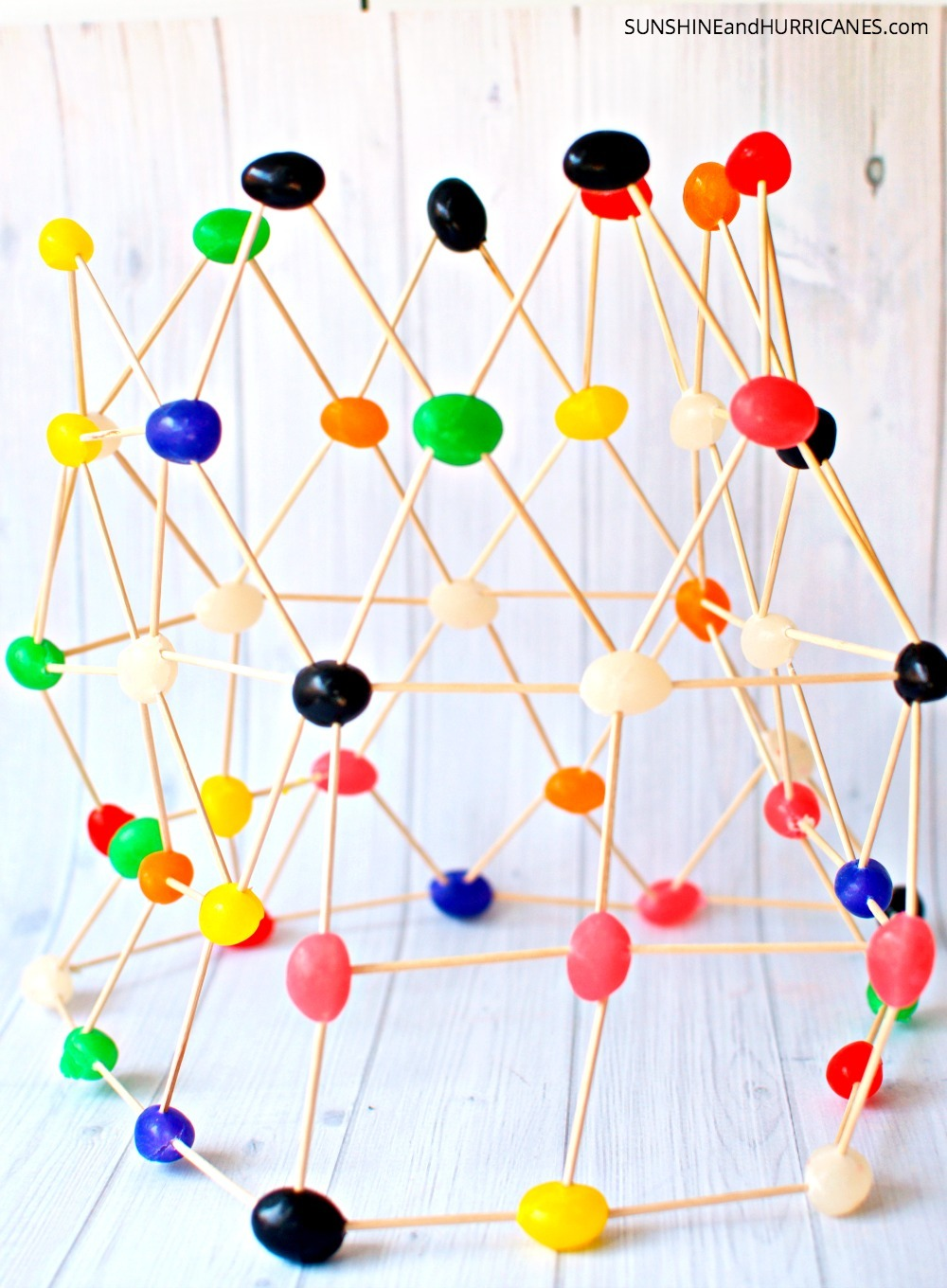Looking for an activity for your children that is both educational and will keep them busy for at least an hour? These jellybean engineering projects are a great way to help children learn the concepts of building in a fun and interactive way. STEM Activities for Kids. SunshineandHurricanes.com