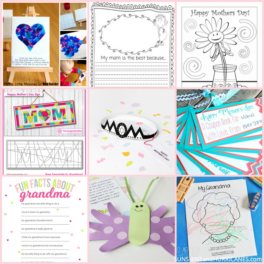Mothers Day Printable Round Up