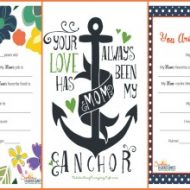 Mother's Day Printable Round Up