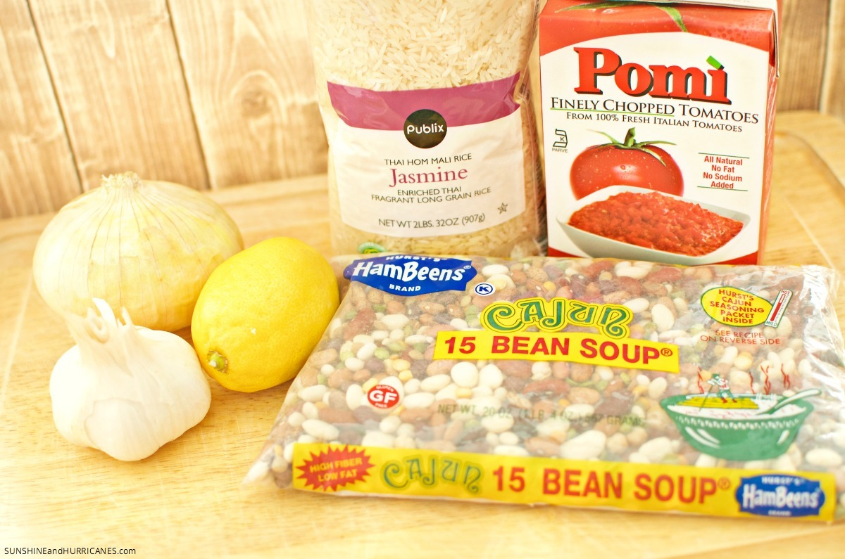 Cajun Rice and Beans Recipe with Hurst Beans. Yum! SunshineandHurricanes.com