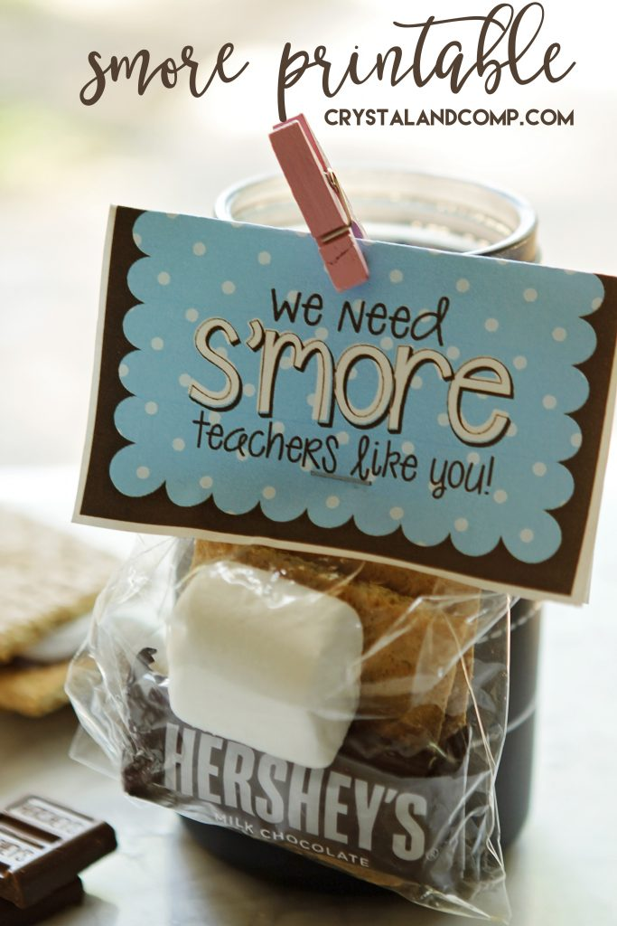We Need SMORE Teachers Like You Teacher Gift Ideas