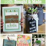 Not sure what to get your child's teacher for teacher appreciation or year end gifts? Here are ideas straight from a teacher that you can either buy or make, whichever suits your fancy.