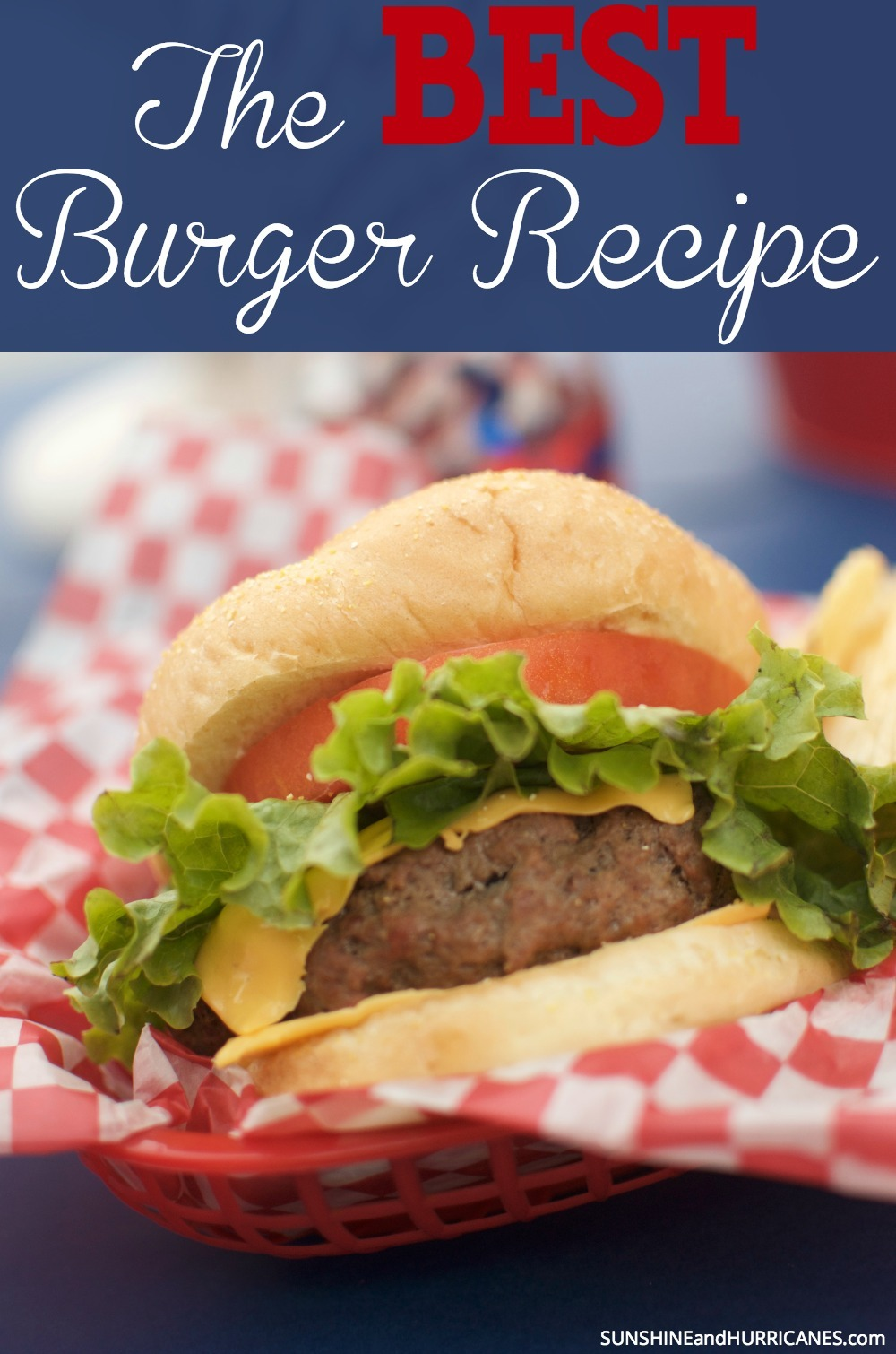 There is nothing better than a big, juicy hamburger right off the grill. The aroma just smells of summer fun and good times with friends and family. While we know everyone thinks they've got a pretty darn good burger recipe, we're here to tell you that you haven't really tasted heaven until you've tried our recipe. We trul believe it is The Best Burger Recipe around (we might even take a wager on it!). SunshineandHurricanes.com
