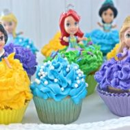 Disney Cupcakes For Your Princess Party